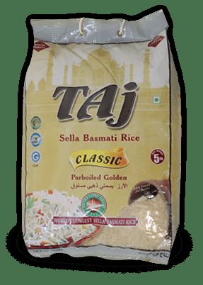 Taj Classic Parboiled Basmati Rice