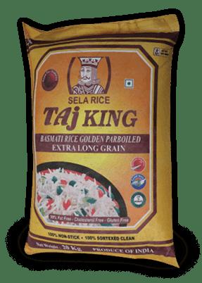 Taj King Golden Parboiled Basmati Rice