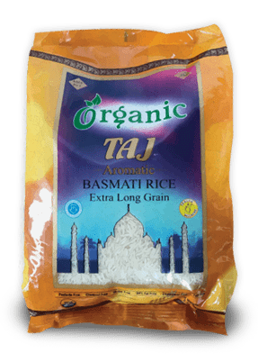 Taj Organic Basmati Rice