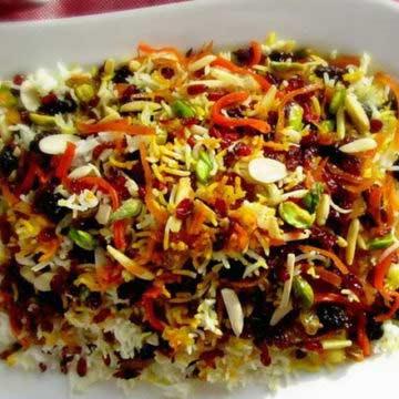 Iranian Jewelled Rice Recipe