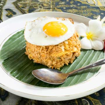 Nasi Goreng / Indonesian Fried Rice Recipe