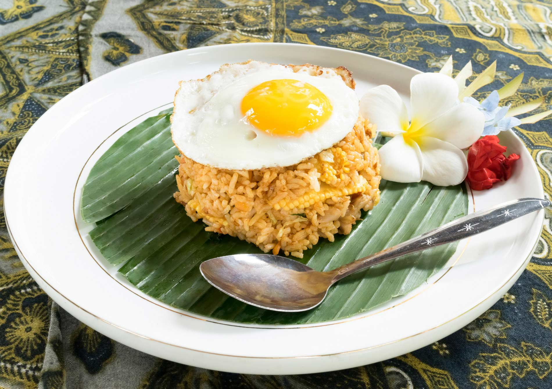 Nasi Goreng / Indonesian Fried Rice Recipe - Taj Foods