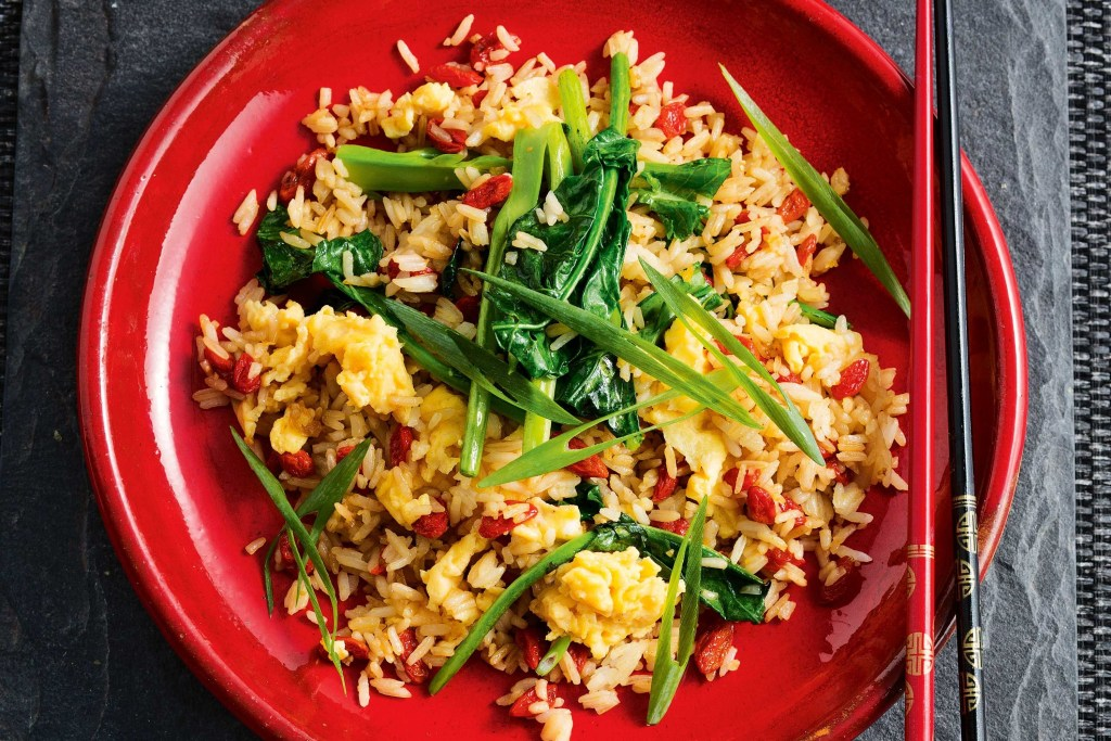 Pomegranate Fried Rice