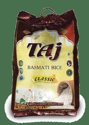 Taj basmati rice classic