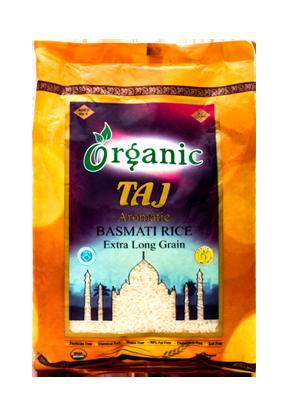 Taj Organic Rice
