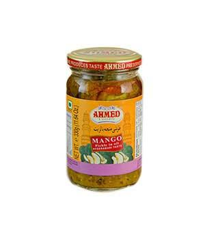 Mango pickle jar