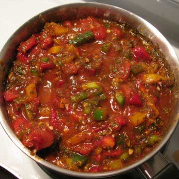 Stewed Okra & Tomatoes