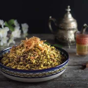 Mejadra – Middle Eastern Rice Pilaf