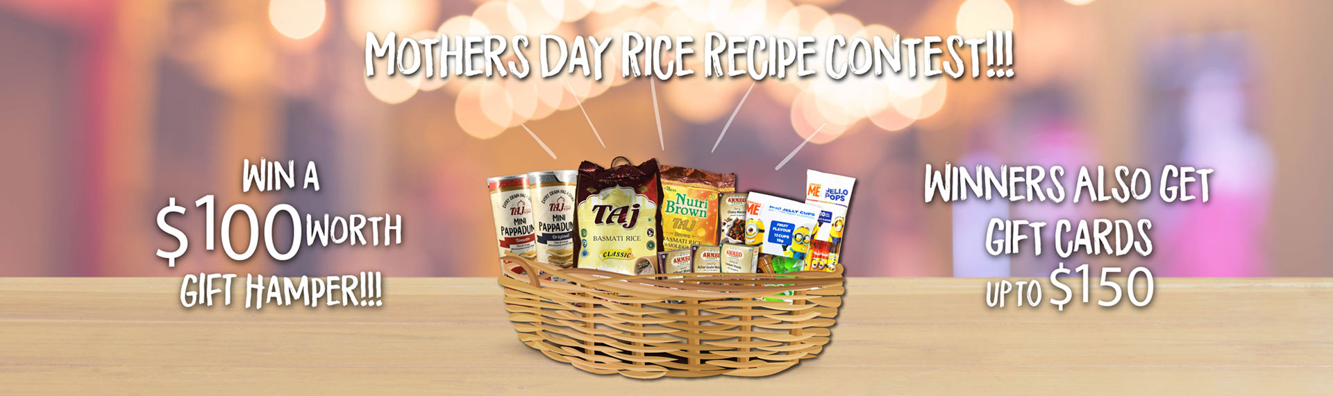Mother Day Recipe Contest