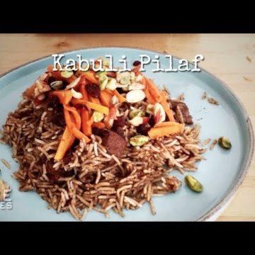 Kabuli Lamb Pilaf