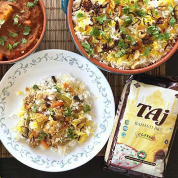 Vegetable Biryani – Lovingly made by Mytheryi Dilip for Taj Foods' 2018 Mother's Day Rice Contest