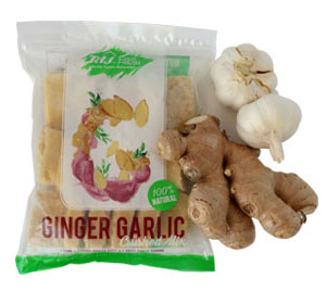 Crushed Garlic And Ginger Herbs