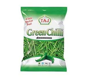 Whole Green Chillies