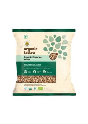 Organic Coriander Whole