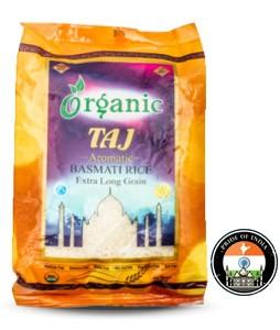 Taj Organic Basmati