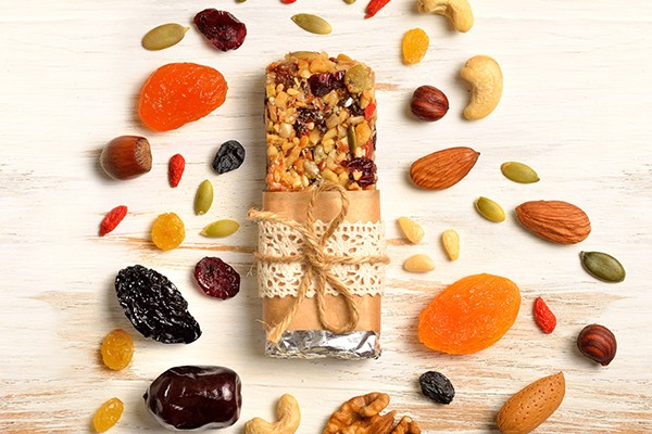 Dry Fruit Protein Bar