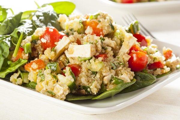 Quinoa Tofu Salad